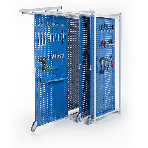 Sovella Nederland Treston TKT10 lean panelenbox met uitschuifbare gereedschapsborden