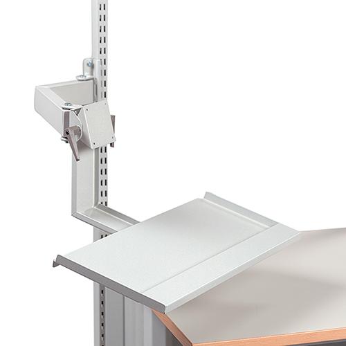 Sovella Nederland Treston LCD-houder op zwenkarm met toetsenbord tray voor op een werktafel of inpaktafel