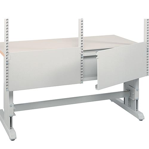Sovella Nederland Treston kabeldeksel voor op concept werktafel of inpaktafel voor het opbergen van kabels