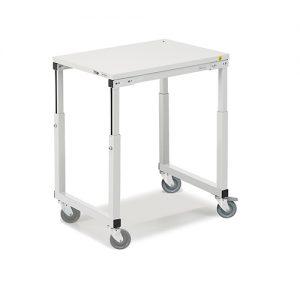Sovella Nederland Treston SAP507 trolley, op hoogte instelbaar. Ideaal voor naast een werktafel of inpaktafel