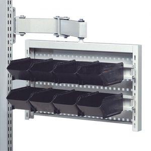 Sovella Nederland Treston rotating tool panel holder met bakken en geperforeerd bord inhaakbaar