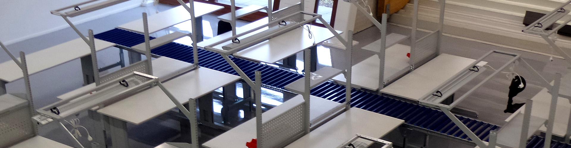 Sovella Nederland Treston concept werktafel voor apple service center ESD-veilige werktafels