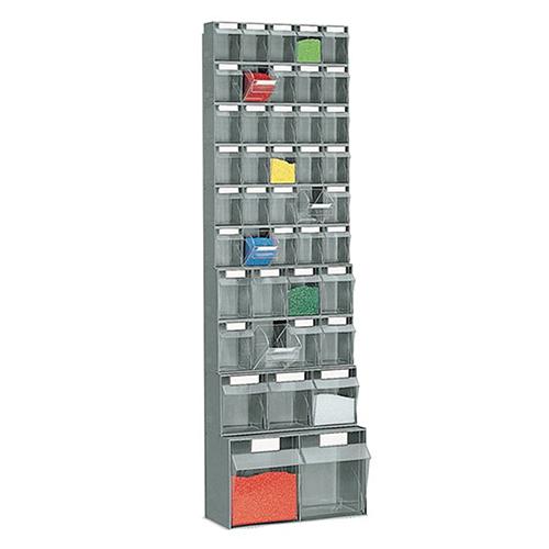Sovella Nederland Fami kantelbak systeem voor kleine onderdelen in de werkplaats