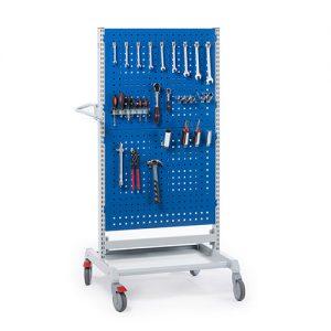 Sovella Nederland Treston trolley combinatie 5 met gereedschapsborden en ophanghaken voor in de werkplaats