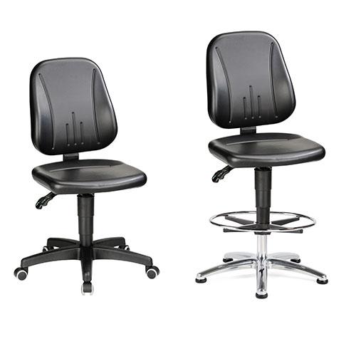 Sovella Nederland Treston C25 en C30 werkplaats stoel ESD-veilig voor bij een werktafel of inpaktafel