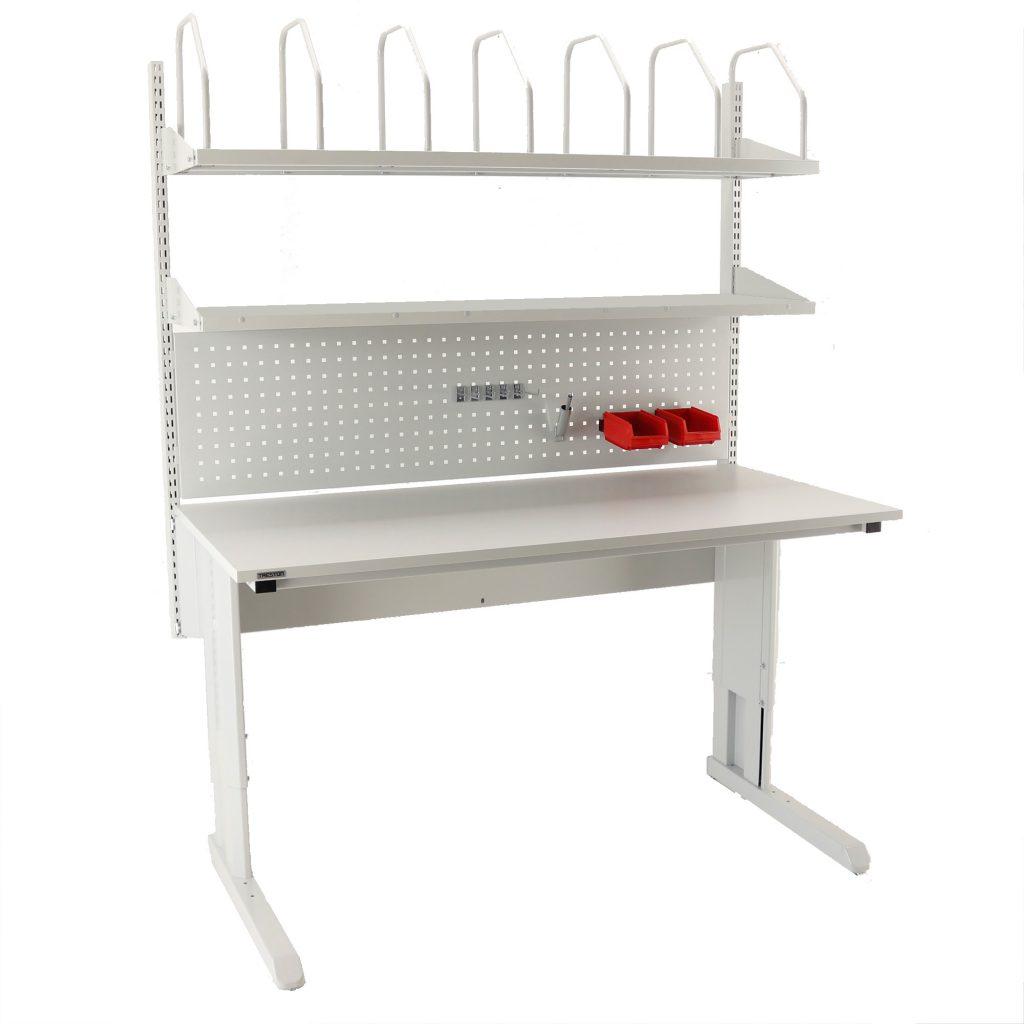 Sovella Nederland Treston inpaktafel concept met gereedschapsbord hakenset karton houder en legbord