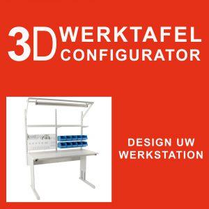 Sovella Nederland Treston werktafel samenstellen Concept TP Workshop TPH TPB en WB vraag eenvoudig offerte aan voor een werktafel
