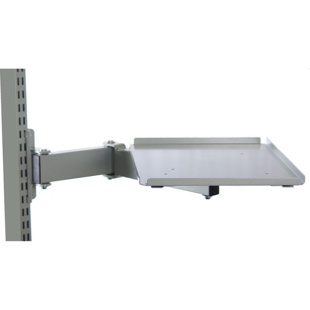Sovella Nederland Treston Houder voor labelprinter Zebra ZM400 voor op een concept inpaktafel - logistieke werkplek - magazijn werktafel