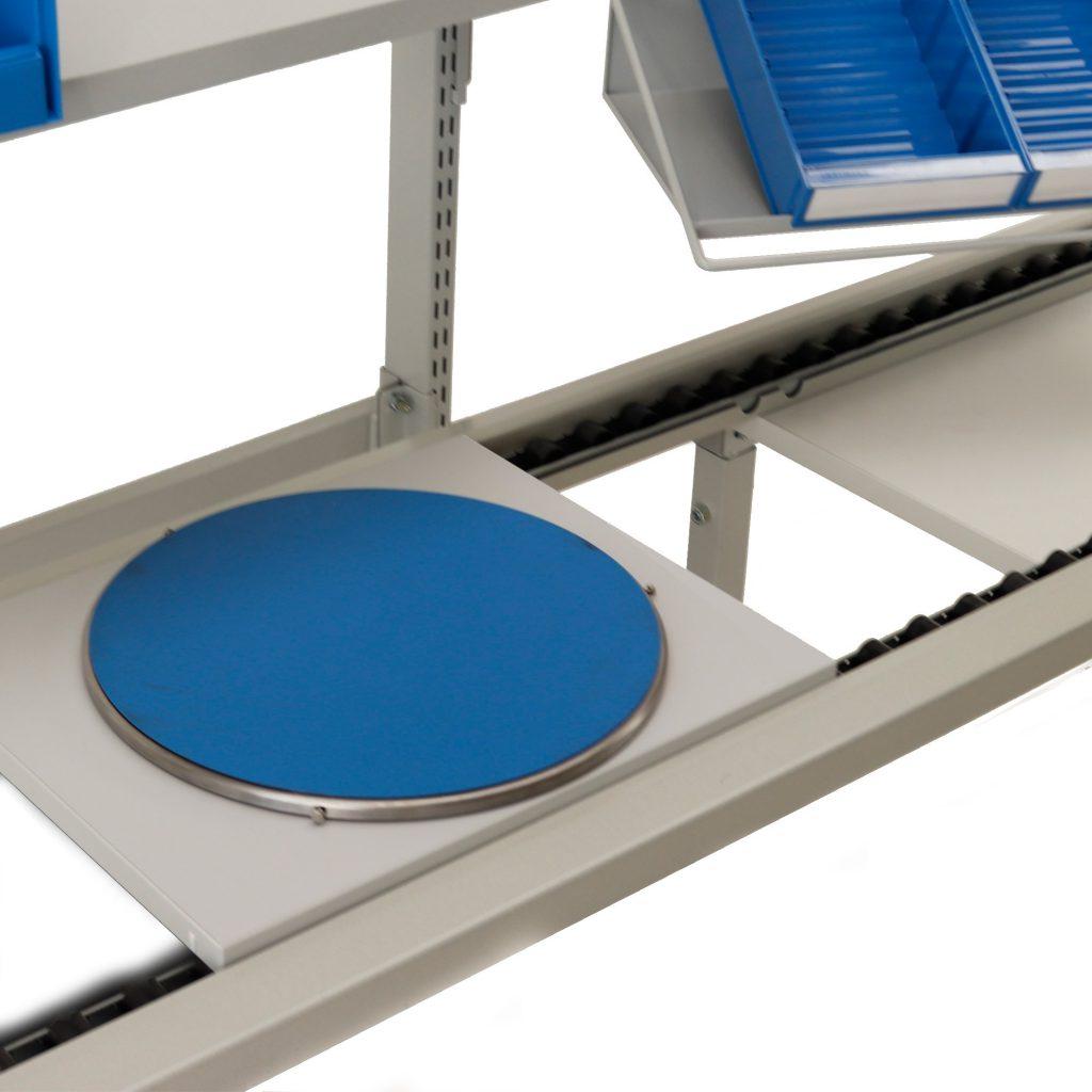Sovella Nederland Treston multiline assemblage lijn met ESD draaiplateau voor op werktafel of losstaand