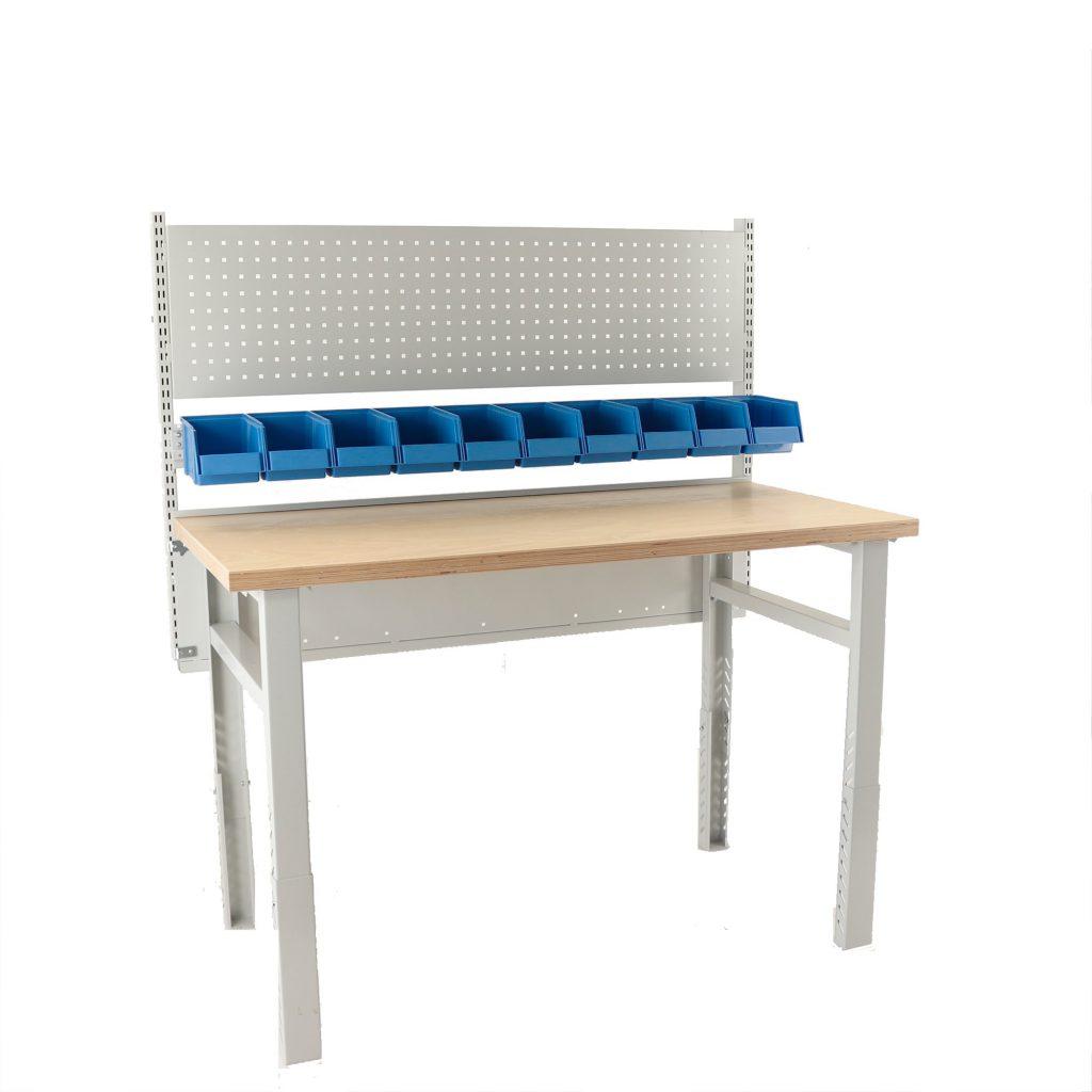 Sovella Nederland Treston zware werkbank met multiplex tafelblad