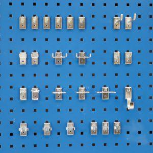 Sovella Nederland treston GWS gereedschapsbord met hakenset 26 delig voor op een werktafel