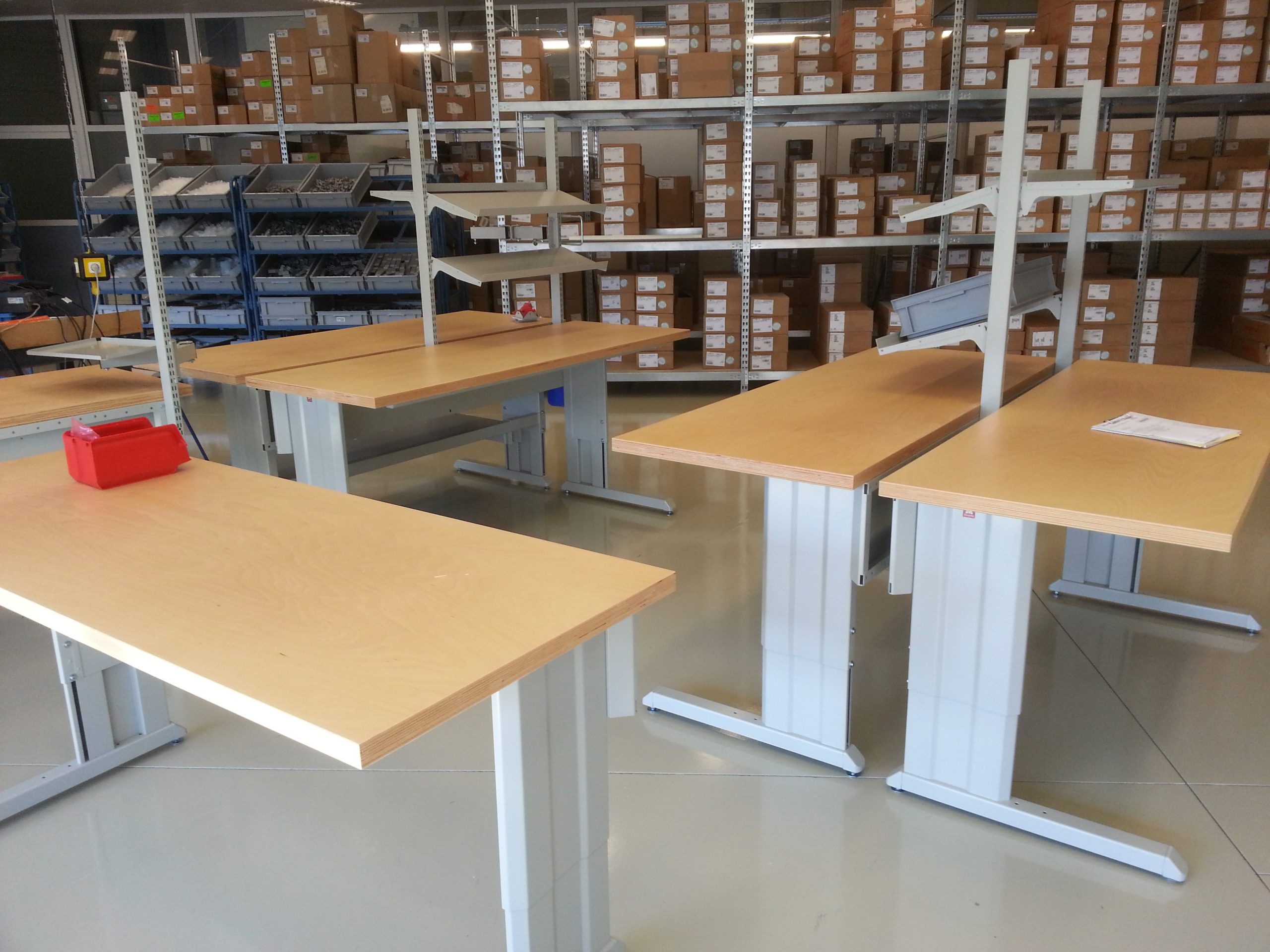 Technische groothandel kiest wederom voor Workshop inpaktafels