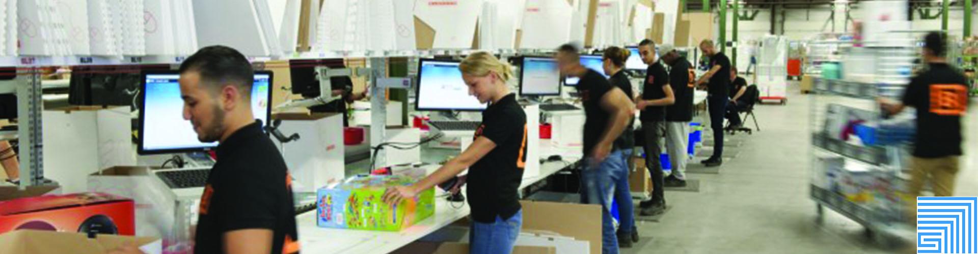 Sovella Nederland Treston inpaktafel met verstelling voor webshops en logistiek