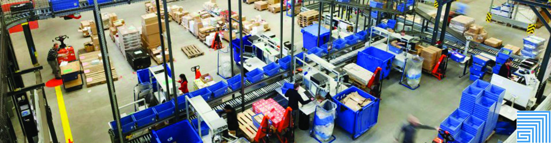 Sovella Nederland Treston concept inpaktafel voor logistieke centra en fulfilment