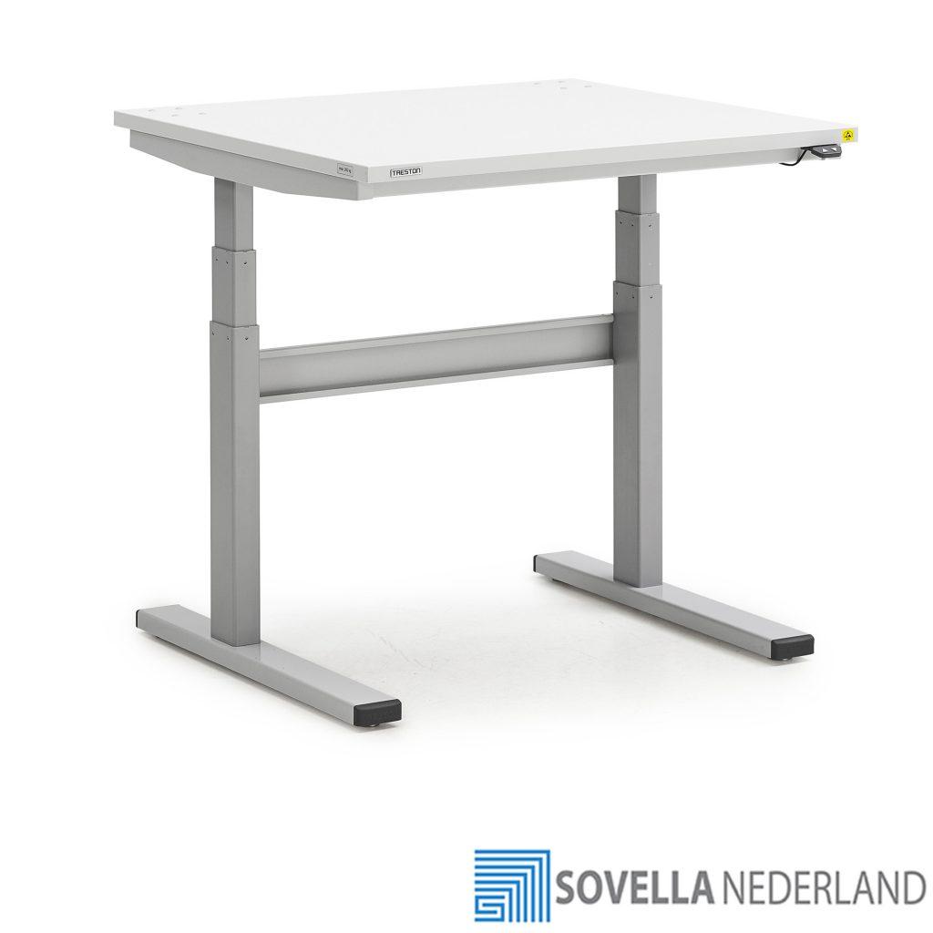 Sovella Nederland Treston TED motorisch verstelbare ESD werktafel