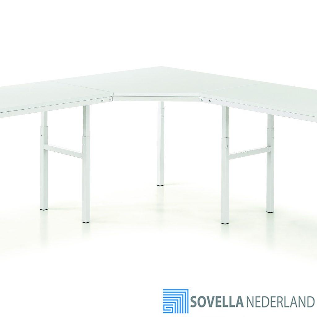 Sovella Nederland Treston hoekstuk TP werktafel