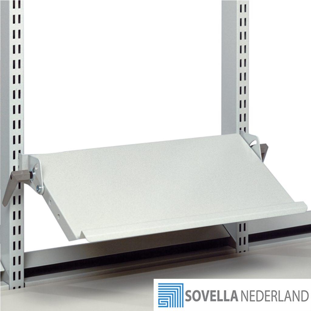 Sovella Nederland Treston kantelbaar documentenlegbord boven een werktafel