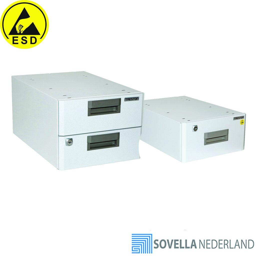 Sovella Nederland Treston ladekast onder een werktafel - ESD-veilig