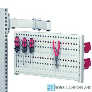 Sovella Nederland Treston roteerbaar gereedschapbord voor boven een werkbank