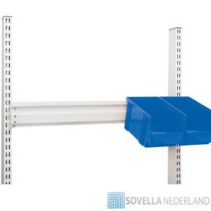 Sovella Nederland Treston opslagbakken met ophanngstrip voor perfo zuilen