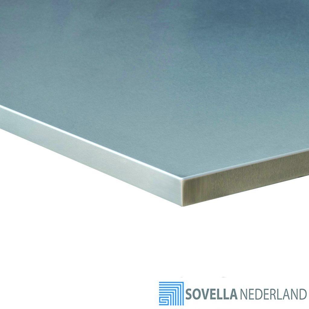 Sovella Nederland RVS werktafelblad voor werkbank