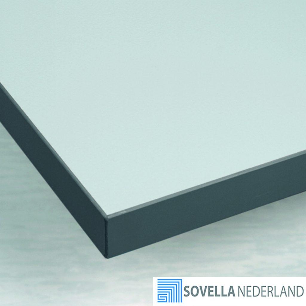 Sovella Nederland Treston werktafelblad plastic top en afgewerkte randen